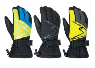 Перчатки Sno-X Gloves Black 2XL