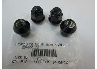 Black Whell Nut M10x1.25 Гайка