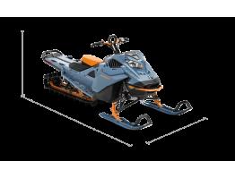 SUMMIT X 165 850 E-TEC SHOT 2022