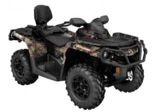 Outlander MAX 650 XT Breakup Country Camo