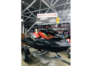 SEA-DOO RXP-X Eclipse Black and Lava Red