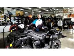 Обзор квадроцикла BRP OUTLANDER MAX 1000R XT P