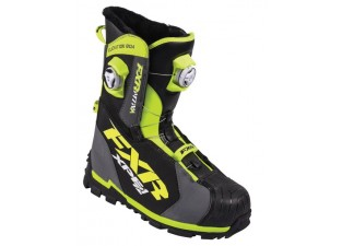 Ботинки FXR Elevation Lite BOA Focus Charcoal/Hi-Vis 12