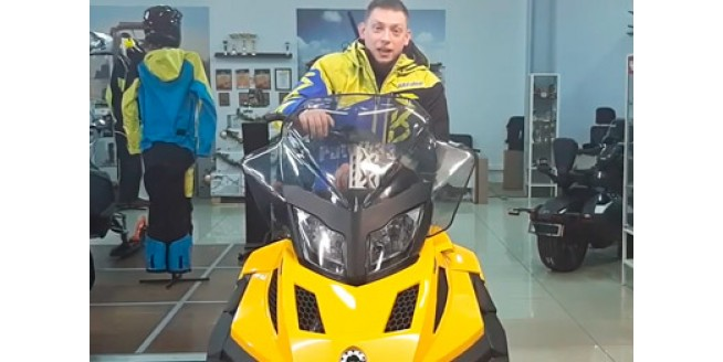 Легендарный снегоход Ski-Doo Tundra LD 550 в БРП Центр Гранд Владимир>